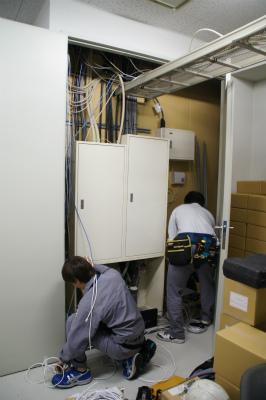 事務室配線工事
