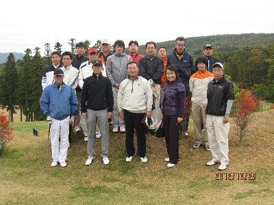 golf参加者