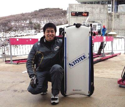 田山選手 in parkcity