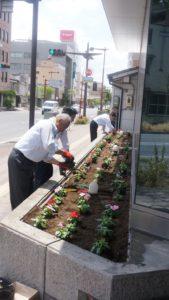 resize花壇整備